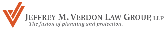 Jeffrey M. Verdon Law Group Logo