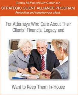 Strategic Client Alliance Program by Jeffrey M. Verdon Law Group
