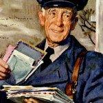 vintage mailman