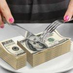 cutting money