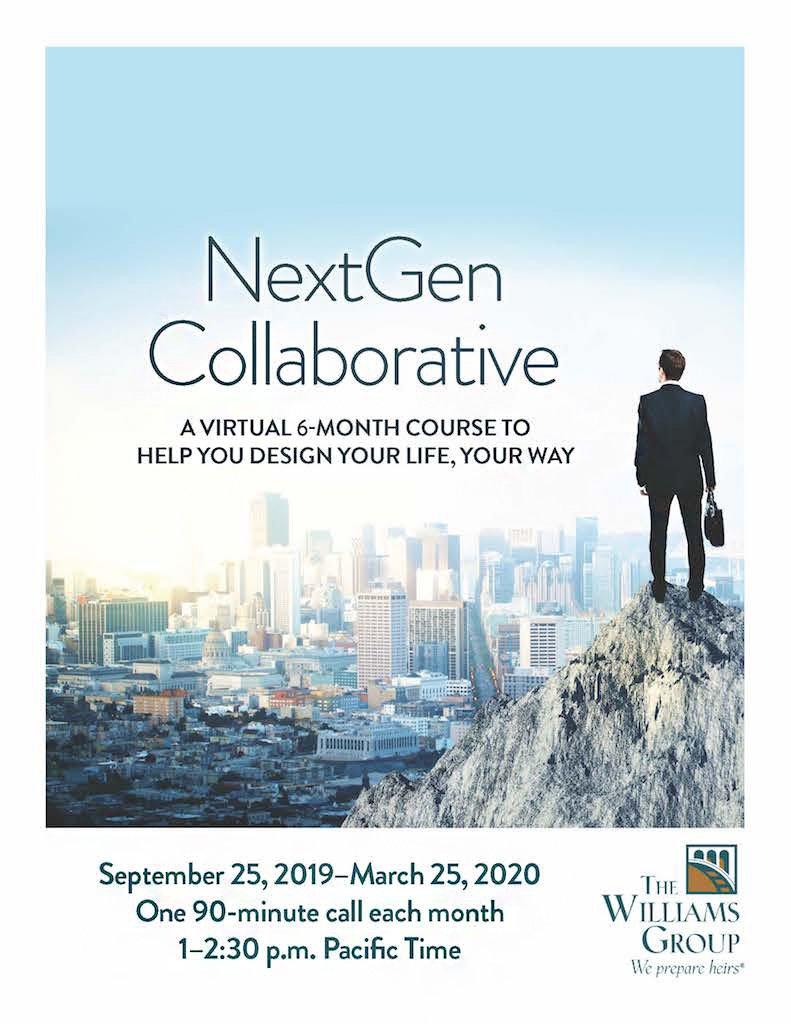 NextGen Collaborative cover page