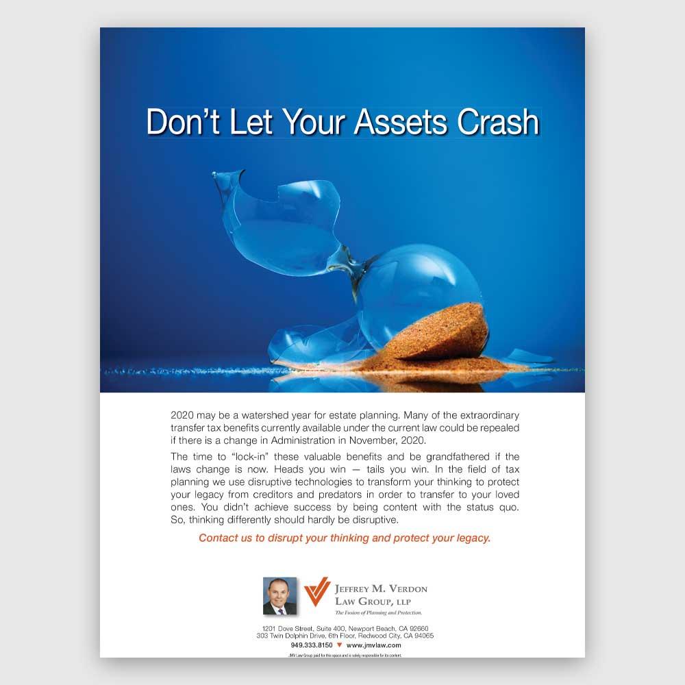 Don't Let Your Assets Crash